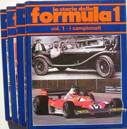 Picture of LA STORIA DELLA FORMULA 1 (4 volumi)