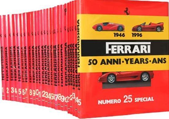 Picture of Complete series FERRARISSIMA OLD SERIES (25 volumes)