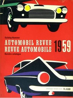 Picture of AUTOMOBIL REVUE 1959