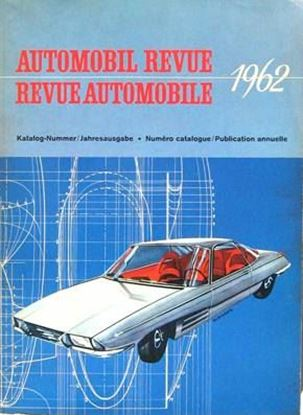 Picture of AUTOMOBIL REVUE 1962