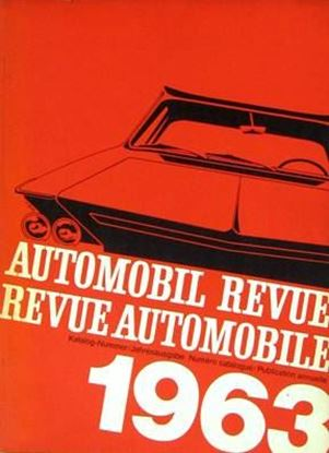 Picture of AUTOMOBIL REVUE 1963