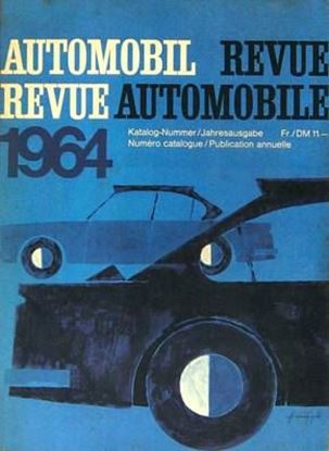 Picture of AUTOMOBIL REVUE 1964