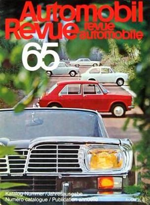 Picture of AUTOMOBIL REVUE 1965
