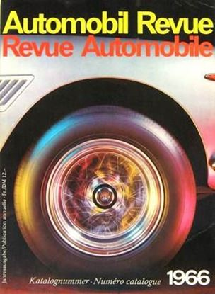 Picture of AUTOMOBIL REVUE 1966