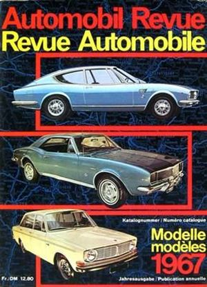 Picture of AUTOMOBIL REVUE 1967