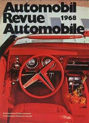 Picture of AUTOMOBIL REVUE 1968
