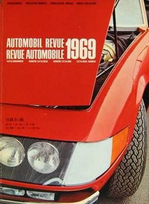 Picture of AUTOMOBIL REVUE 1969