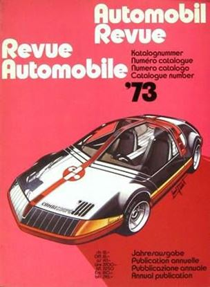 Picture of AUTOMOBIL REVUE 1973