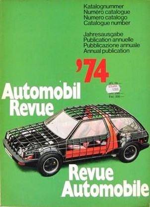 Picture of AUTOMOBIL REVUE 1974