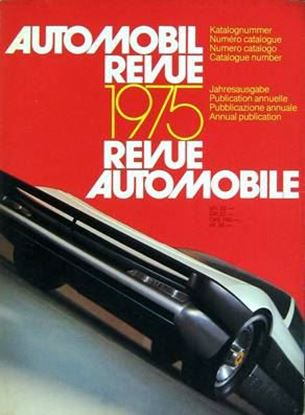 Picture of AUTOMOBIL REVUE 1975
