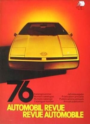 Picture of AUTOMOBIL REVUE 1976