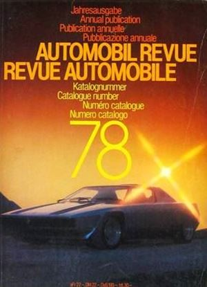 Picture of AUTOMOBIL REVUE 1978