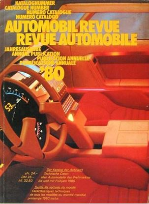 Picture of AUTOMOBIL REVUE 1980