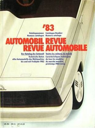 Picture of AUTOMOBIL REVUE 1983
