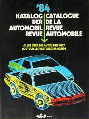 Picture of AUTOMOBIL REVUE 1984
