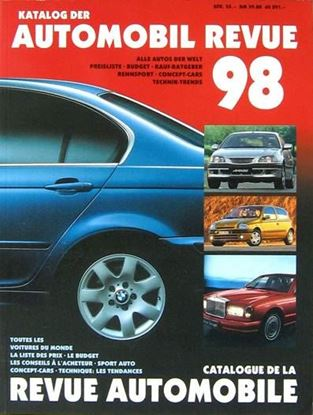 Picture of AUTOMOBIL REVUE 1998