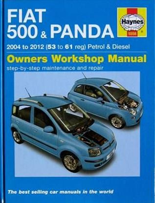 Immagine di FIAT 500 & PANDA 2004/2012 PETROL & DIESEL OWNERS WORKSHOP MANUAL N. 5558