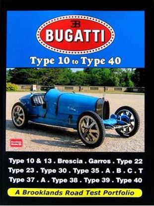 Immagine di BUGATTI TYPE 10 TO TYPE 40 ROAD TEST PORTFOLIO