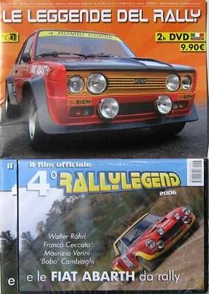 Picture of LE LEGGENDE DEL RALLY E LE FIAT ABARTH DA RALLY GD Gentlemen Drivers Special VOL.3 fascicolo + DVD
