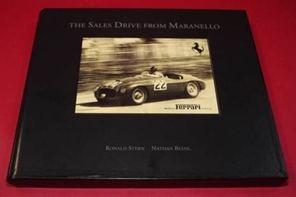 Immagine di THE SALES DRIVE FROM MARANELLO-THE EARLY BROCHURES 1940-1964 DE LUXE BLACK LEATHER EDITION