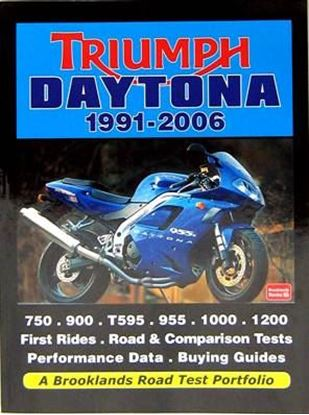 Picture of TRIUMPH DAYTONA 1991-2006: A BROOKLANDS ROAD TEST PORTFOLIO