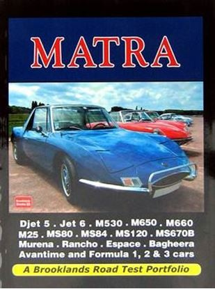 Picture of MATRA: A BROOKLANDS ROAD TEST PORTFOLIO
