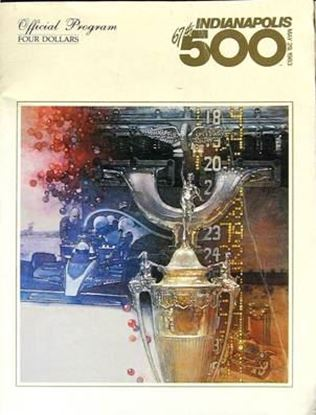 Picture of 67TH INDIANAPOLIS 500 OFFICIAL PROGRAM MAY 29 1983