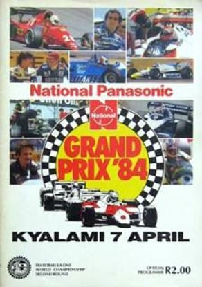 Picture of NATIONAL GRAND PRIX 1984 KYALAMI –SOUTH AFRICA