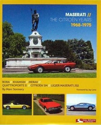 Picture of MASERATI THE CITROEN YEARS 1968-1975