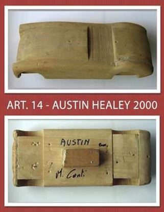 Picture of AUSTIN HEALEY 2000 - MANNEQUIN/MANICHINO IN LEGNO IN SCALA 1/10 DI MICHELE CONTI (ART. 14)