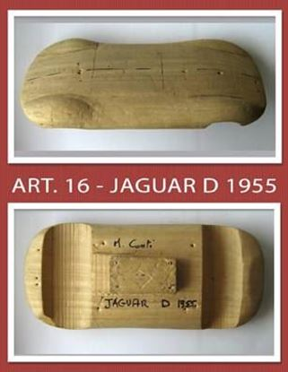 Picture of JAGUAR D 1955 - MANNEQUIN/MANICHINO IN LEGNO IN SCALA 1/10 DI MICHELE CONTI (ART. 16)