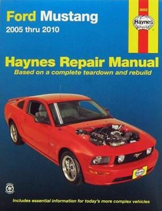 Picture of FORD MUSTANG 2005 TO 2010 (USA) HAYNES REPAIR MANUAL N.36052