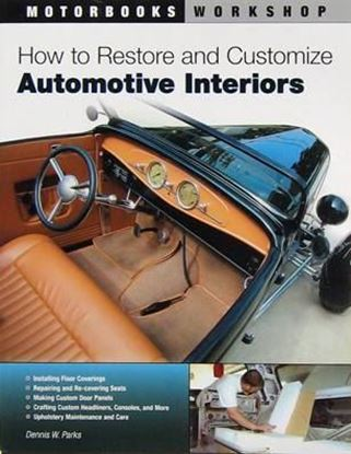 Picture of HOW TO RESTORE AND CUSTOMIZE AUTOMOTIVE INTERIORS