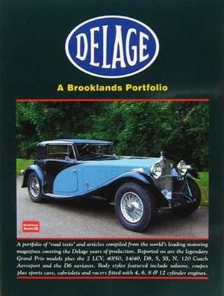 Picture of DELAGE A BROOKLANDS PORTFOLIO