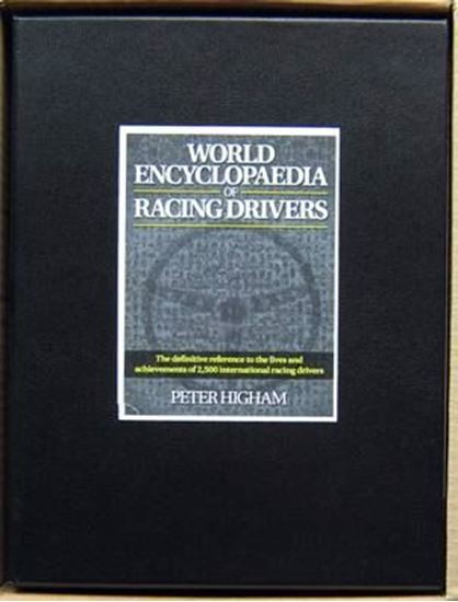 Picture of WORLD ENCYCLOPAEDIA OF RACING DRIVERS: The definitive reference to the lives and achievements of 2,500 international racing drivers