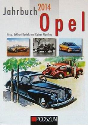 Picture of JAHRBUCH OPEL 2014