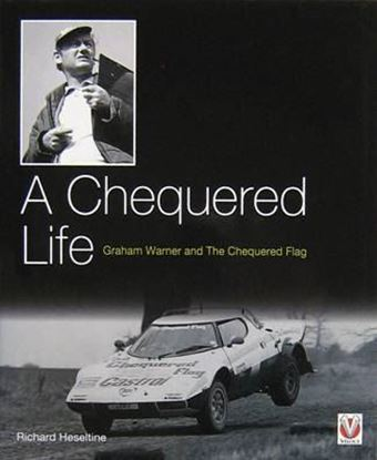 Immagine di A CHEQUERED LIFE GRAHAM WARNER AND THE CHEQUERED FLAG