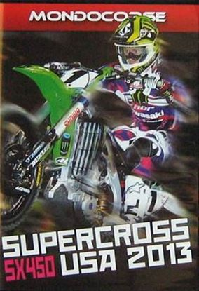 Picture of SUPERCROSS USA 2013 SX 450 (Dvd)