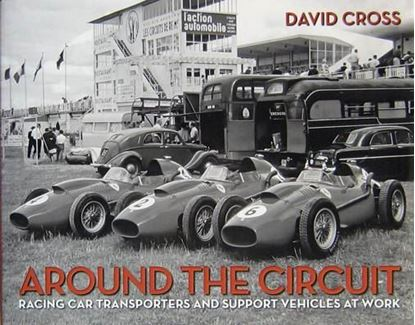 Immagine di AROUND THE CIRCUIT RACING CAR TRANSPORTERS AND SUPPORT VECHICLES AT WORK