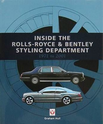 Immagine di INSIDE THE ROLLS ROYCE & BENTLEY STYLING DEPARTMENT 1971 TO 2001