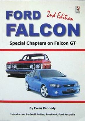 Immagine di FORD FALCON 2ndEDITION WITH SPECIAL CHAPTERS ON FALCON GT