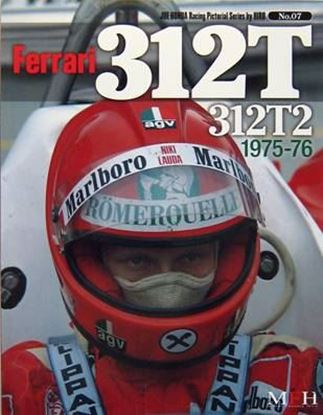 Picture of FERRARI 312T 312T2 1975/76: RACING PICTORIAL SERIES BY HIRO N.07
