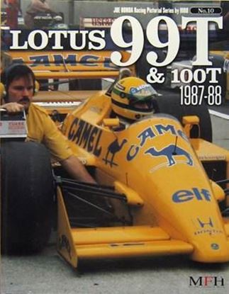Immagine di LOTUS 99T & 100T 1987/88 RACING PICTORIAL SERIES BY HIRO N.10