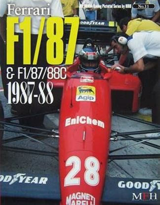 Picture of FERRARI F1/87 & F1/87/88C 1987/88: RACING PICTORIAL SERIES BY HIRO N.11