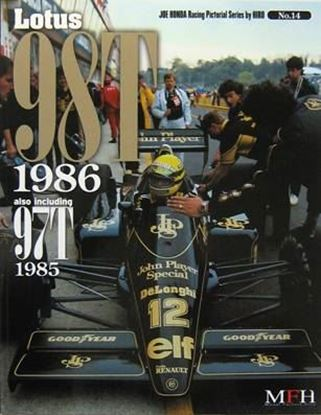 Picture of LOTUS 98T 1986 ALSO INCLUDING 97T 1985: RACING PICTORIAL SERIES BY HIRO N.14