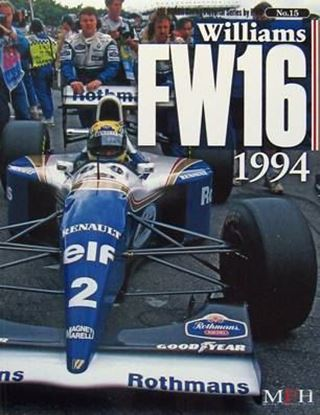 Immagine di WILLIAMS FW16 1994 RACING PICTORIAL SERIES BY HIRO N.15