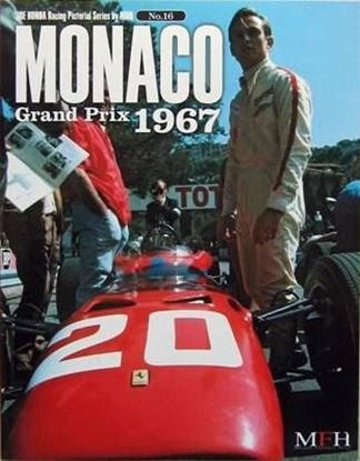 Immagine di MONACO GRAND PRIX 1967 RACING PICTORIAL SERIES BY HIRO N.16