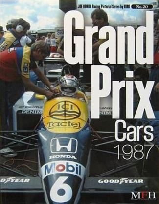Immagine di GRAND PRIX CARS 1987 RACING PICTORIAL SERIES BY HIRO N.20