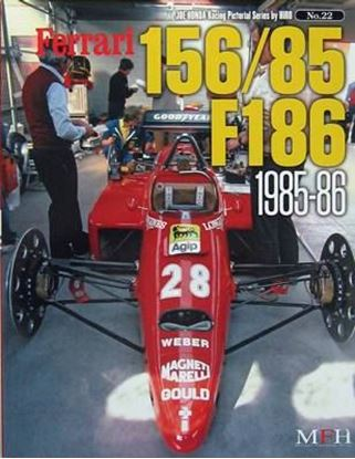 Immagine di FERRARI 156/85 F186 1985/86 RACING PICTORIAL SERIES BY HIRO N.22