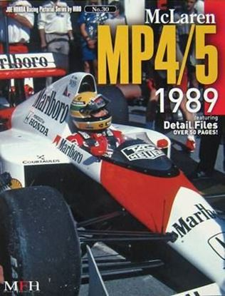 Picture of MCLAREN MP4/5 1989: RACING PICTORIAL SERIES BY HIRO N.30